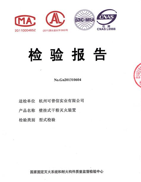 产品检验报告-1